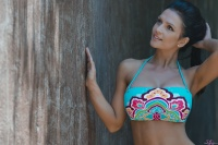 Дениз Милани, фото 5858. Denise Milani Colorful bikini 2012 :, foto 5858