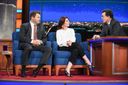 Megan Mullally - The Late Show with Stephen Colbert: May 10th 2017