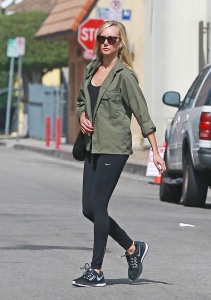 Kimberly Stewart - Leaving The Gym in Studio City - February 27th 2017