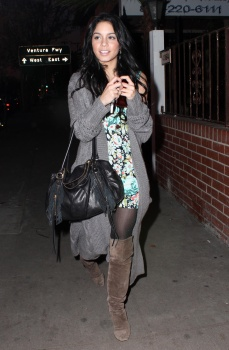 Thought differently, Vanessa hudgens in pantyhose casually found