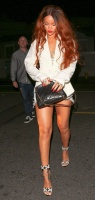 Rihanna - Out for dinner in Santa Monica 7/3/15