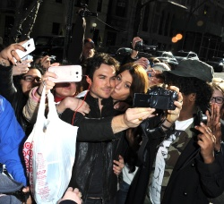 Ian Somerhalder - Arriving at Live with Kelly and Michael in NYC (March 13, 2013) - 18xHQ 8GPAGg9N