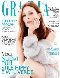 Julianne Moore -                 Grazia Magazine (Italy) August 2017.