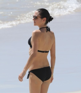Jennifer Connelly - At A Beach in St Barts - February 19th 2017