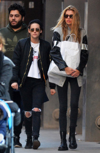 Kristen Stewart & Stella Maxwell - Out Shopping In NYC - February 6th 2017