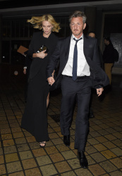 Sean Penn - Charlize Theron and Sean Penn - seen leaving Royal Festival Hall. London - February 16, 2015 (153xHQ) EFKqK9hM