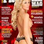 Gatas QB - Jessica Drake Frontal Mag (Revista Frontal) Maio 2014