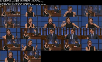 Kathryn Hahn - Late Night with Seth Meyers - 3-18-14