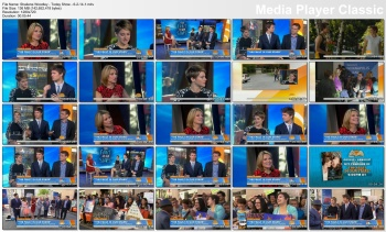 Shailene Woodley - Today Show - 6-2-14 (2 clips)