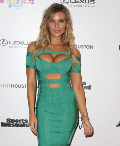 Samantha Hoopes - VIBES By SI Swimsuit 2017 Launch Festival in Houston - February 17th 2017