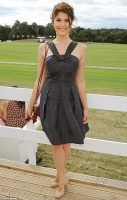 Gemma Arterton - Audi Polo Challenge 8/04/13