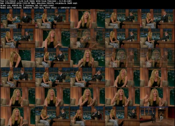 Cat Deeley - Late Late Show with Craig Ferguson - 4-7-14