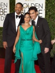 Jada Pinkett Smith and Will Smith attends the 73rd Annual Golden Globe Awards January 10-2016 x41