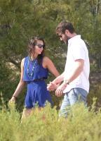Nina Dobrev with her boyfriend Austin Stowell in Saint-Tropez (July 24) DFvLxfui