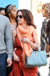 Jennifer Love Hewitt - at a friend's wedding in NY 4/27/13