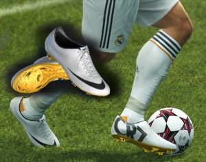 pretty nice 3d68b 23e1f Download PES 2013 Mercurial Vapor IX CR7 White Black Gold by WENS