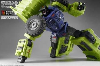 [Toyworld] Produit Tiers - Jouet TW-C Constructor aka Devastator/Dévastateur (Version vert G1 et jaune G2) - Page 5 SQ0Ms9L9