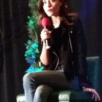 Phoebe Tonkin at Creation Entertainment Convention in Chicago April 06, 2014