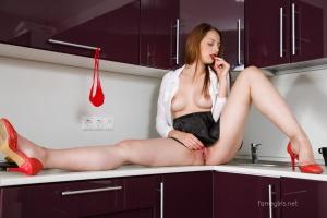 Isabella - In The Kitchen - [famegirls] XDwlUPQW
