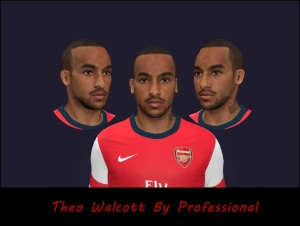 Download Theo Walcott PES 2014 Face by Professional
