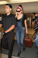 Nina Dobrev at LAX Airport (March 27) KILg1LXR