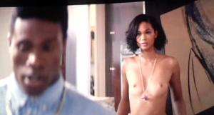 Iman naked chanel