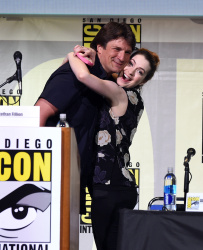 Felicia Day - San Diego Comic-Con International 2016: Con Man Panel @ San Diego Convention Center in San Diego - 07/22/16