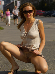 Name Photoset: Alena N - 04 - In A Residential Area