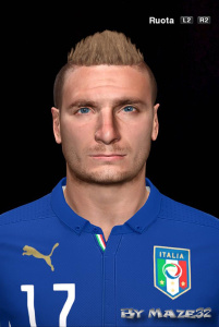 Download PES 2014 Immobile Face by Maze32