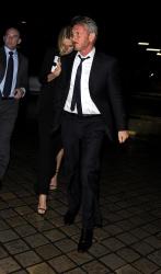 Sean Penn - Charlize Theron and Sean Penn - seen leaving Royal Festival Hall. London - February 16, 2015 (153xHQ) R2DaVX65