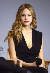 Halston Sage - Paper Towns: Meet the Filmmakers @ Apple Store Soho in NYC - 07/21/15