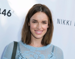 Elizabeth Henstridge - BOO2bullying's New Summer - Fall Global Campaign 'Take A Bite Out Of Bullying' Launch @ The LGBT Center in Hollywood - 07/30/15
