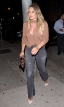 Hilary Duff - at Craig's Restaurant in Hollywood 8/18/17