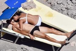 Nicole Scherzinger Wearing a Bikini in Capri, Italy - 7/17/17