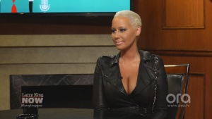 Amber Rose Larry King Ora Tv 06/17/15