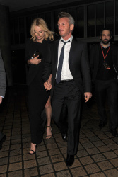 Sean Penn - Charlize Theron and Sean Penn - seen leaving Royal Festival Hall. London - February 16, 2015 (153xHQ) Xgz49VRS