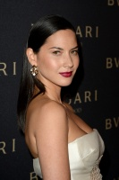 Olivia Munn - at the Decades of Glamour event in West Hollywood - 02/25/14