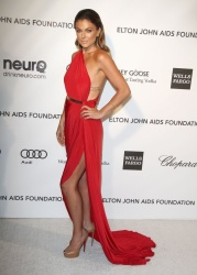 Serinda Swan - 2013 Elton John Academy Awards Party in LA 2/24/13