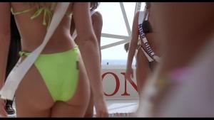 Voyeur beach bikini slips