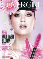 Katy Perry - New Covergirl Ad Scans - Full Bloom Mascara