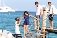 Nina Dobrev with her boyfriend Austin Stowell in Saint-Tropez (July 24) PlUSDhRm