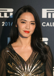 Yao Chen - Pirelli Calendar 2016 Gala Evening @ The Roundhouse in London - 11/30/15