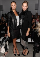 Stacy Keibler - Attends the Helmut Lang Fashion Show 9/06/13
