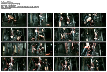 Fetish Diva Nadja - Extremly bondage torture in the hall of chains