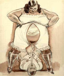 NICE FAT FEMDOM ART PICTURES