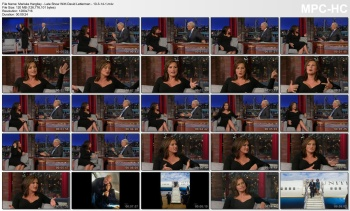 Mariska Hargitay - Late Show With David Letterman - 10-3-14
