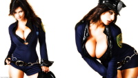 Denise Milani large breasts wallpapers