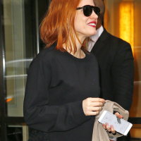 Jessica Chastain - Out in NYC 5/1/2016