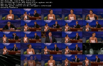 Jessica Alba - Conan O' Brien - 8-19-14