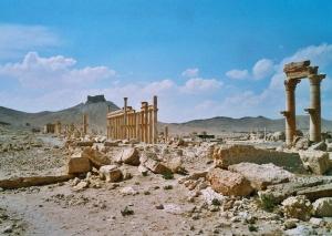 palmyra syrian desert